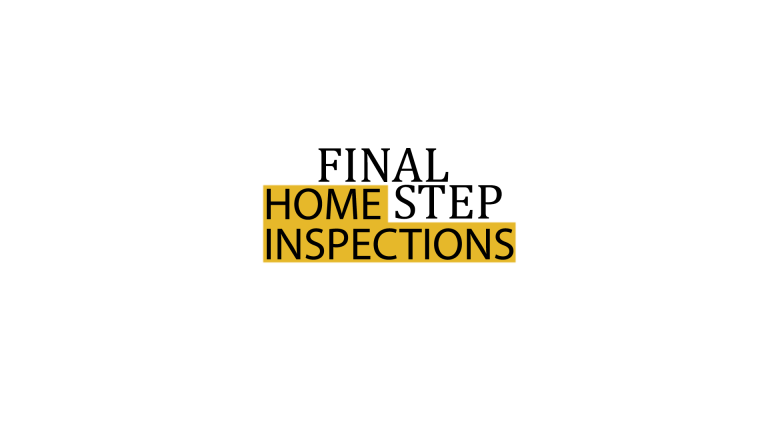 Final Step Home Inspections logo